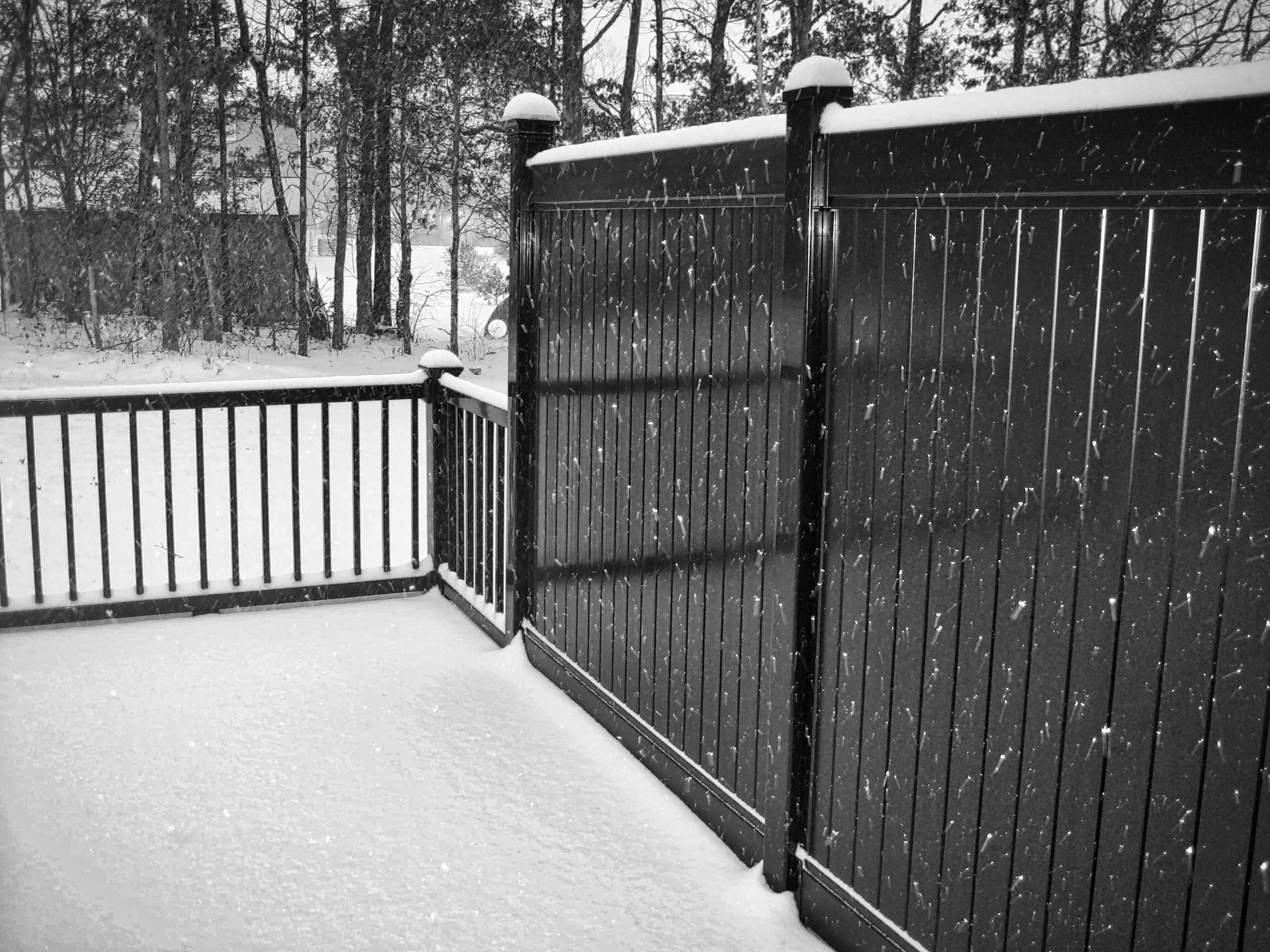 Black Vinyl Fence Bing Images