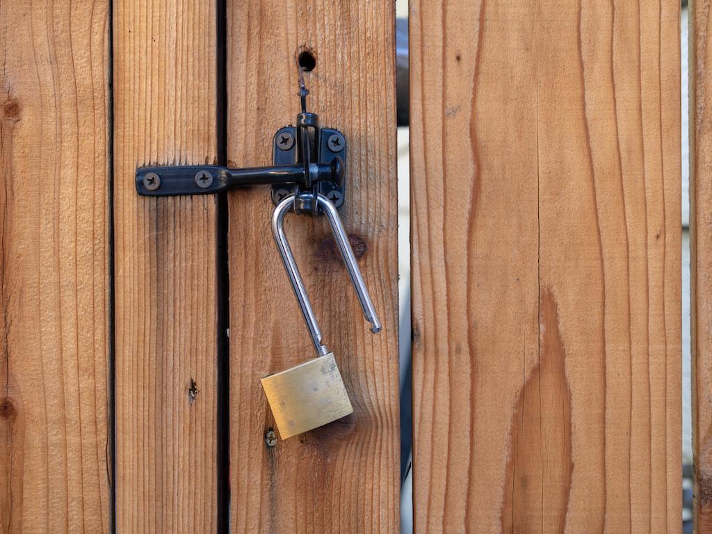 Vinyl Fence Gate Locks